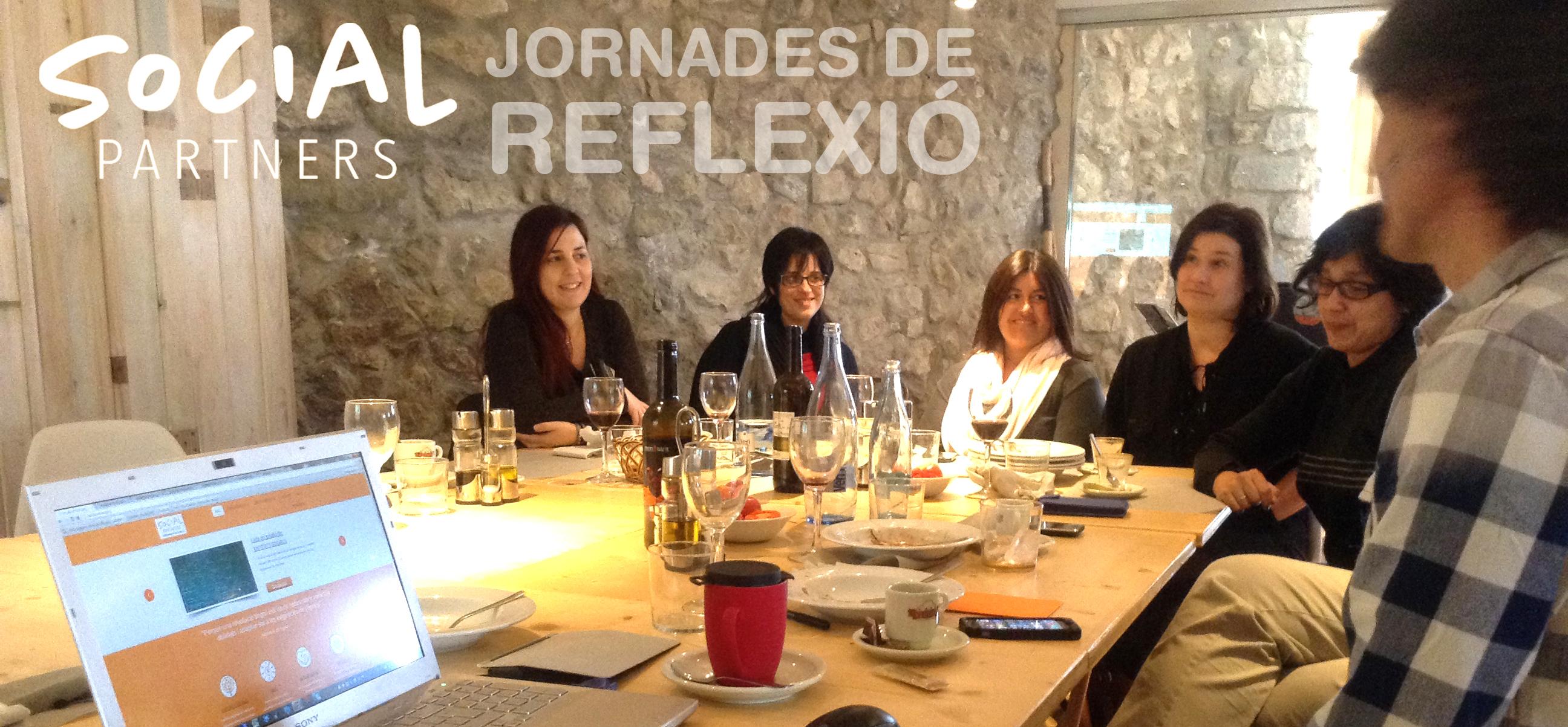 jornada reflexio equip Social Partners
